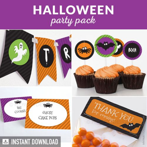 Halloween Party Printable Decorations